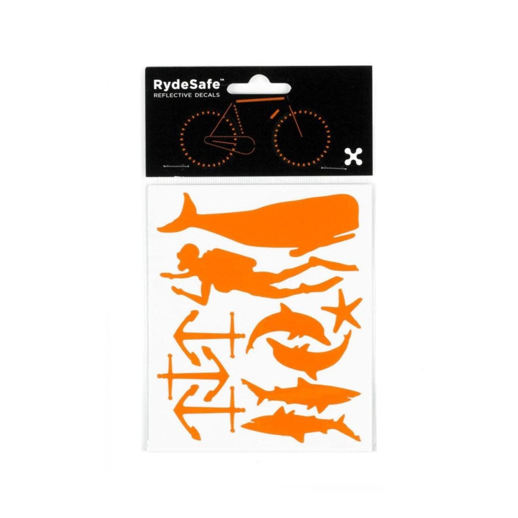 Rydesafe Reflective Decals Nautical kit