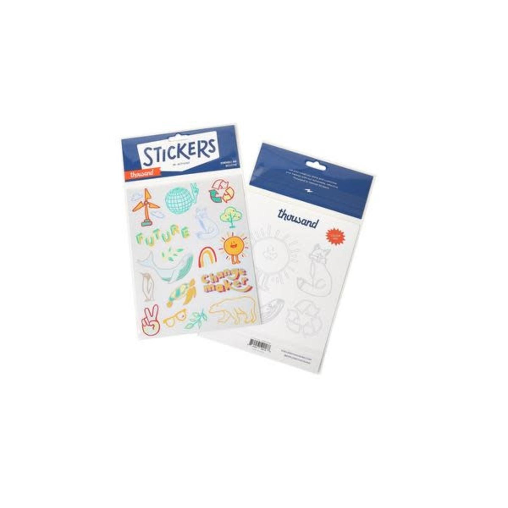 Thousand Thousand Jr Sticker Sheet