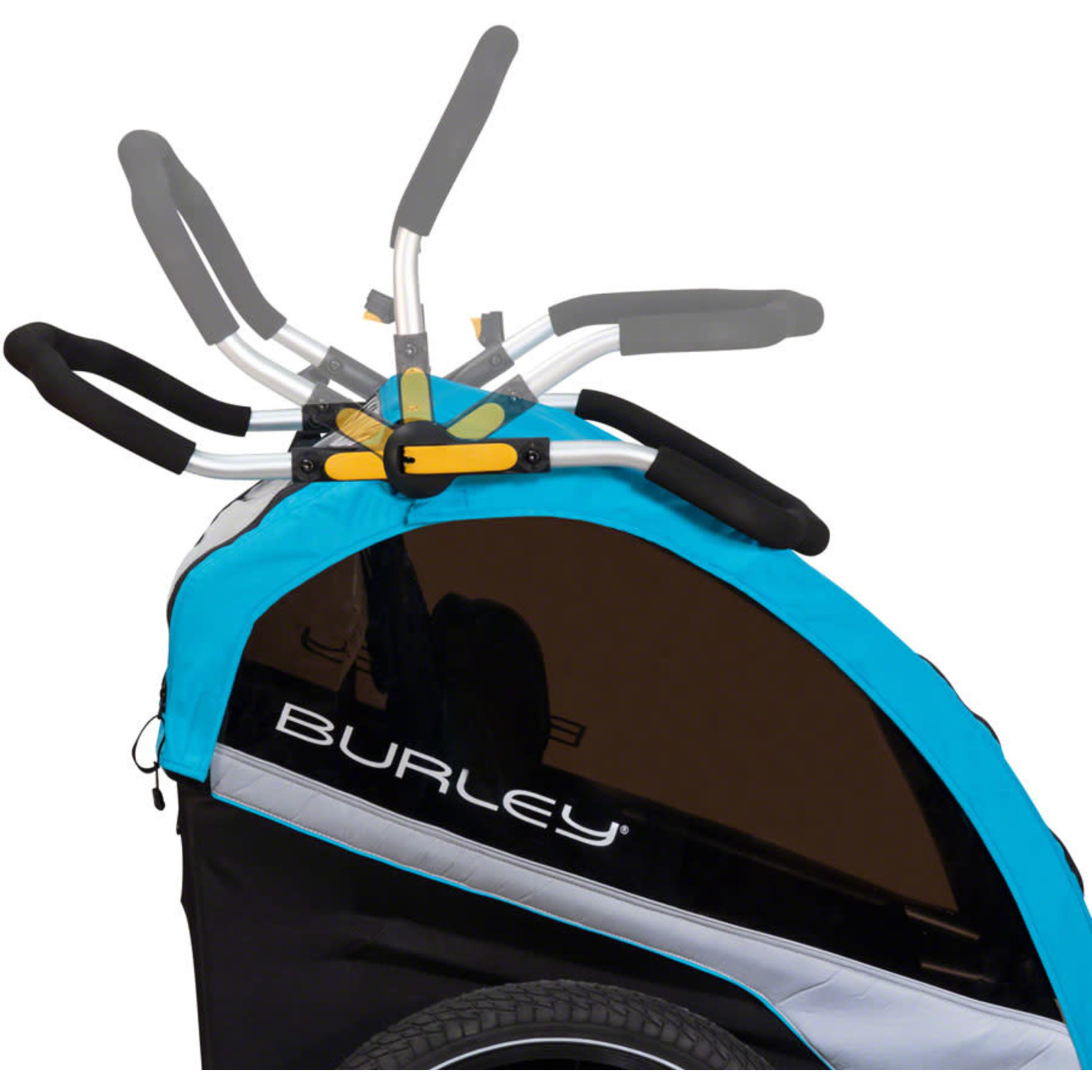 Burley Burley, D'Lite X Child Trailer, Aqua