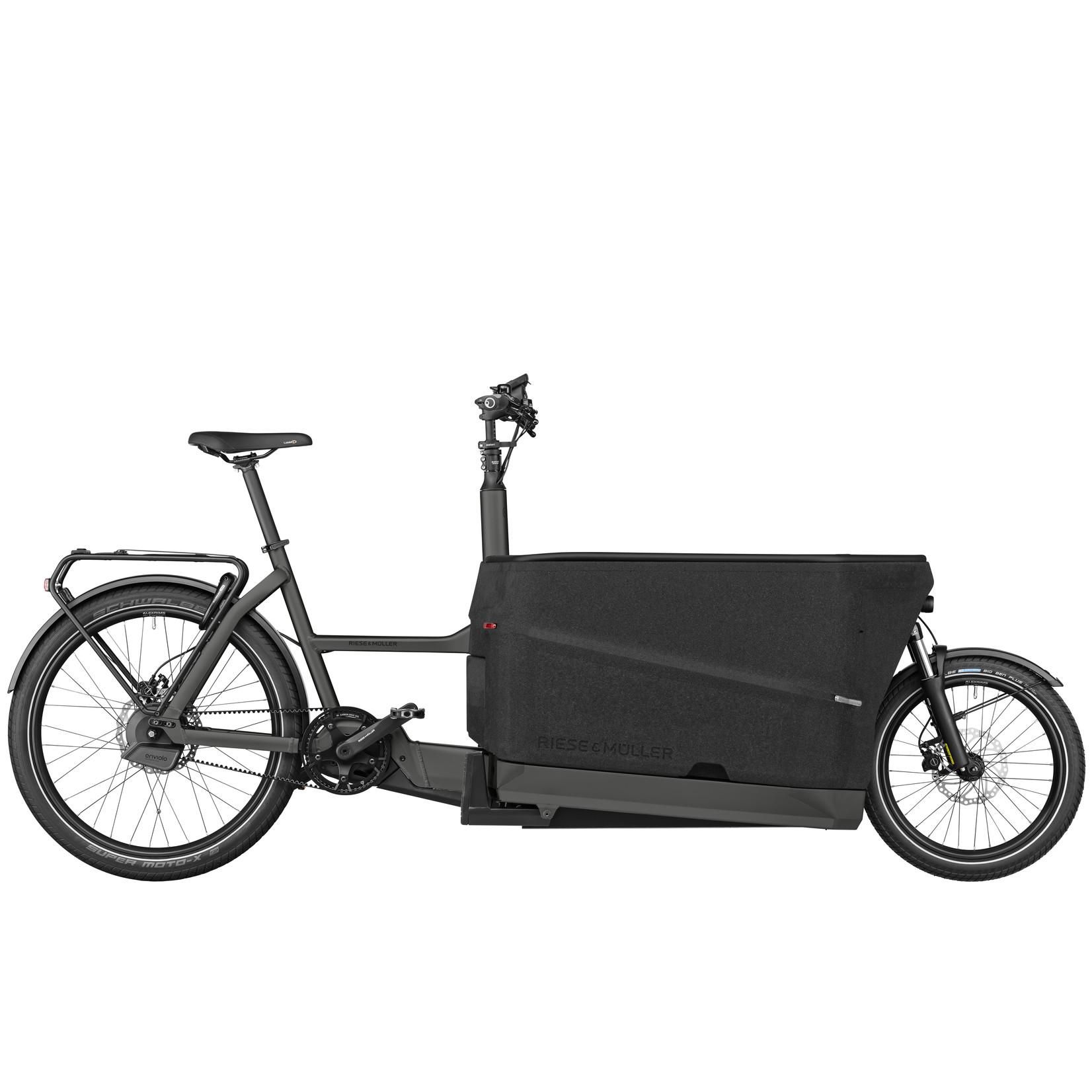 Riese & Muller Reese & Muller, Packster 70 Automatic, Urban Grey Matt