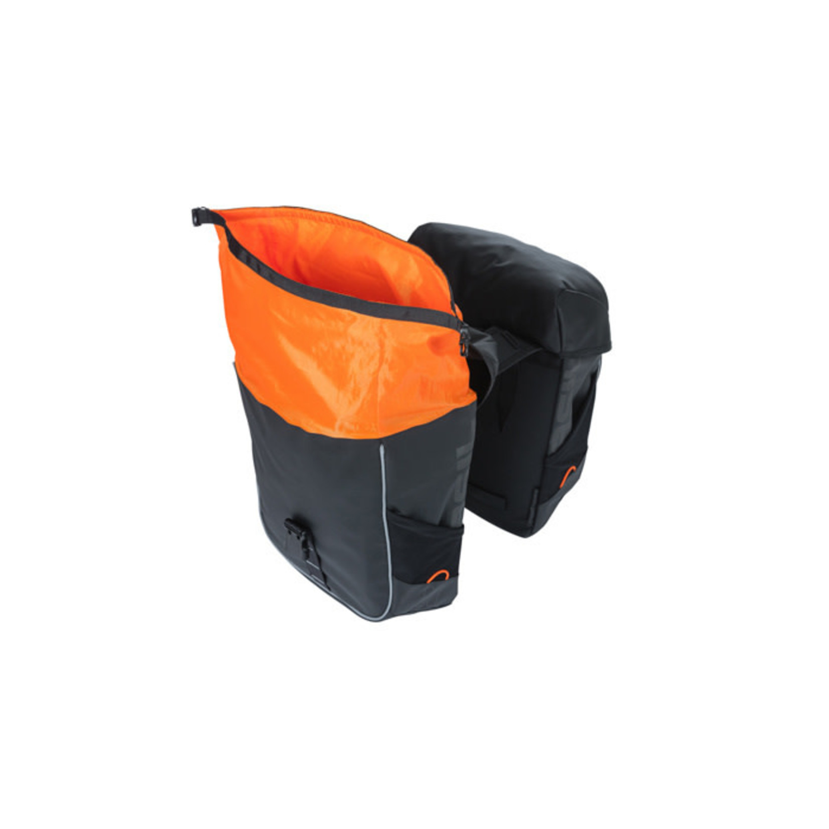 Basil Miles MIK Pannier 34L - Orange/Black
