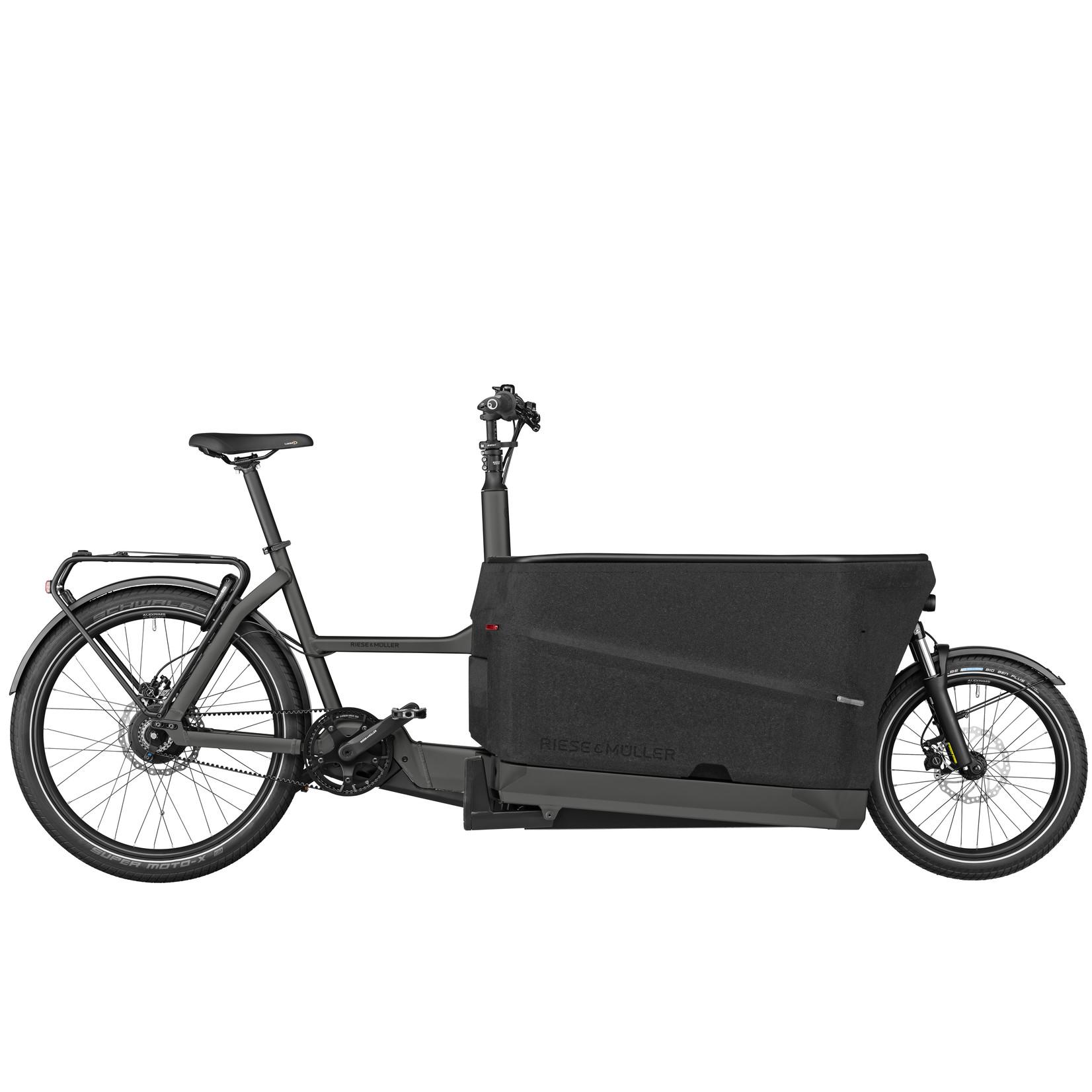 Riese & Muller Riese & Muller, Packster 70 Vario, Urban Grey Matt