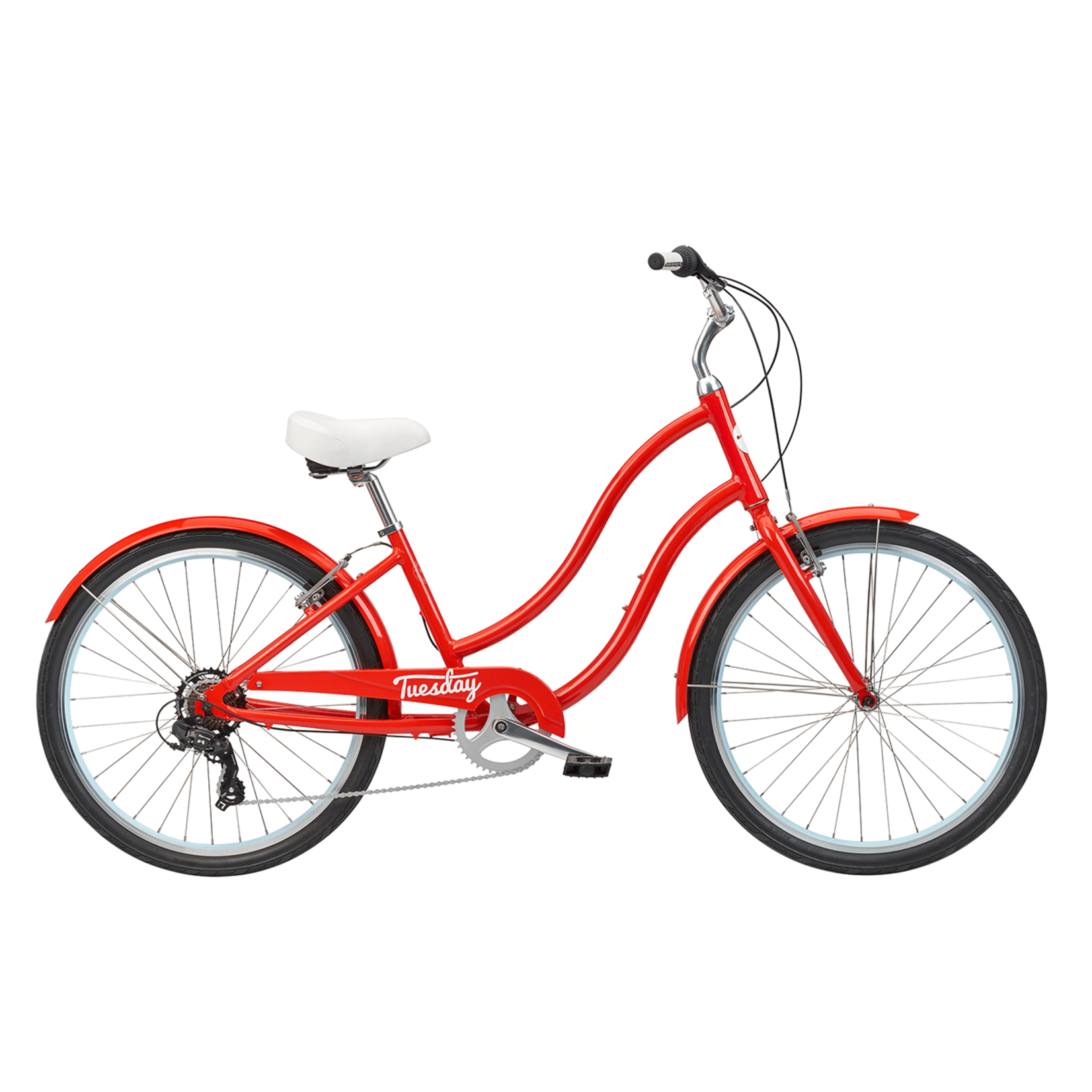 Tuesday Cycles Tuesday March 7 LS Poppy red
