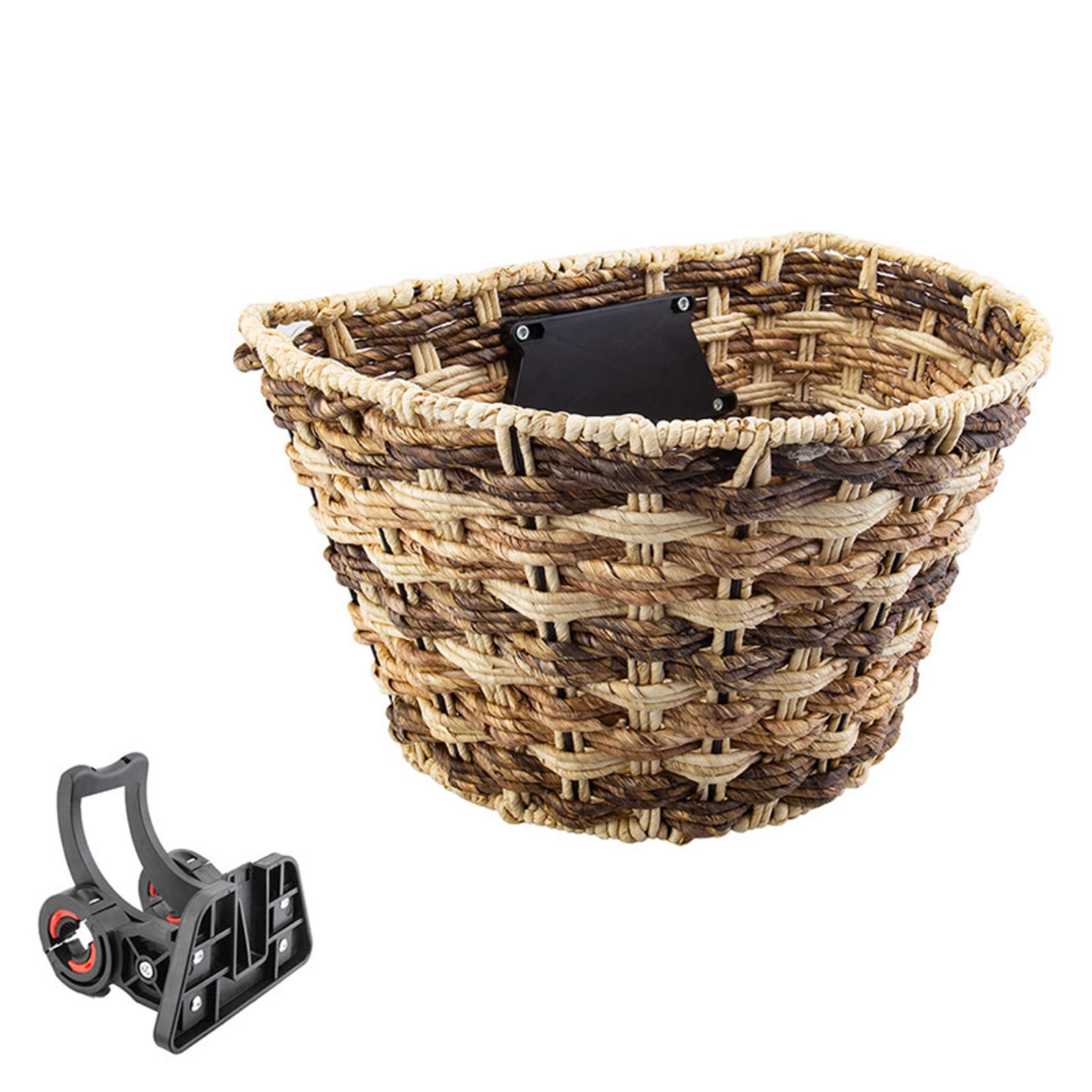 Sunlite Front Basket  Rope Color Wave  Brown W/Bracket