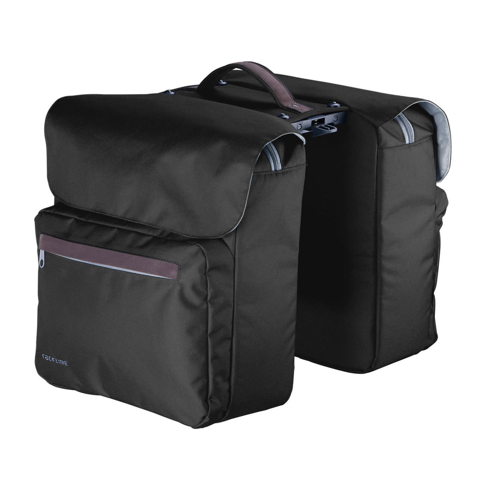 Racktime, Ture Double Bag, Carbon black