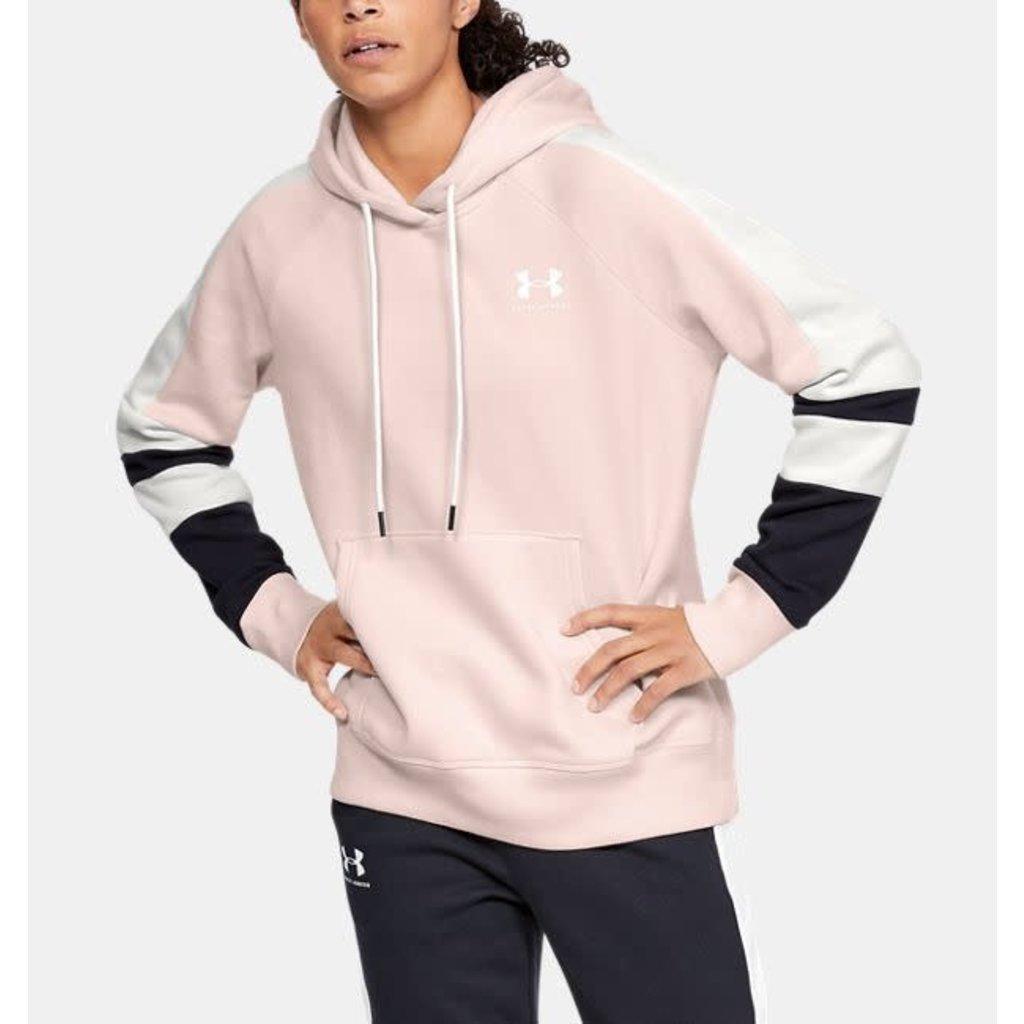 Under Armour Under Armour Women's Rival Fleece Left Chest Logo Novelty Hoody
