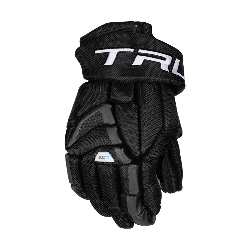True True XC7 Z-Palm Hockey Glove - Blk - 13""