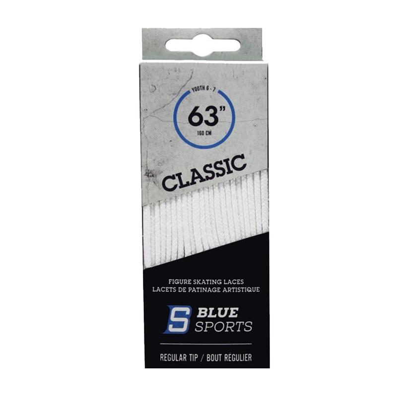 Blue Sports Classic Figure Skate Laces