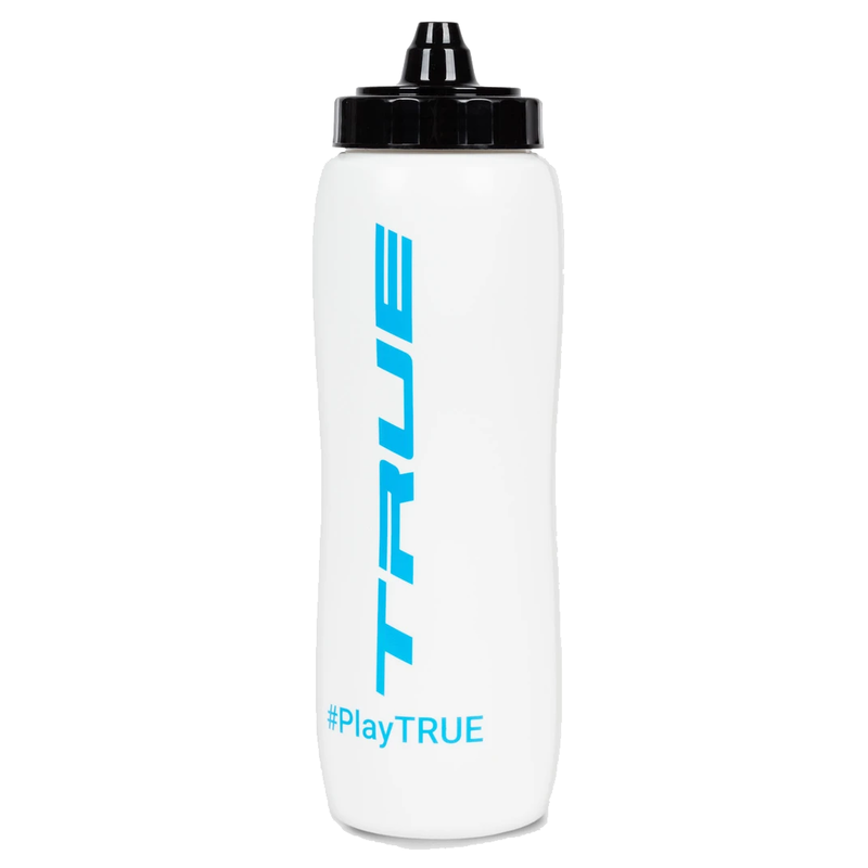 True True 34 oz Squeeze Top Water Bottle - Wht