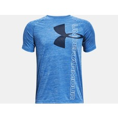 Under Armour Under Armour Boys Tech Split Logo Hybrid Short Sleeve