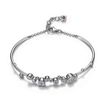 Elle .925 Bubble Bracelet