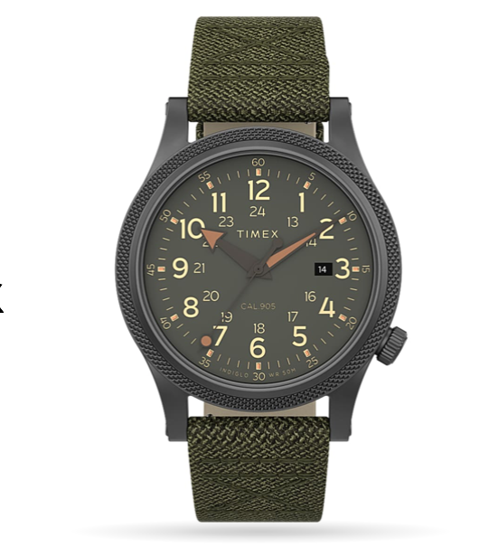 Timex Allied LT 40mm Fabric Strap Watch
