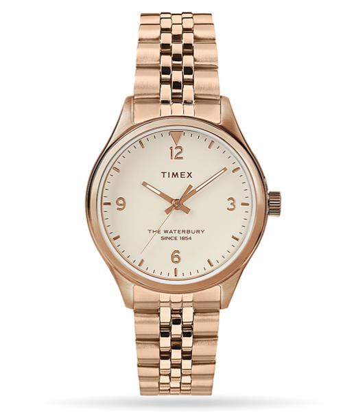 Timex Waterbury Traditional 34mm Stainless Steel Bracelet Watch