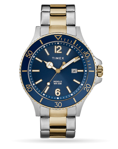 Timex Harborside 42mm Bracelet Watch