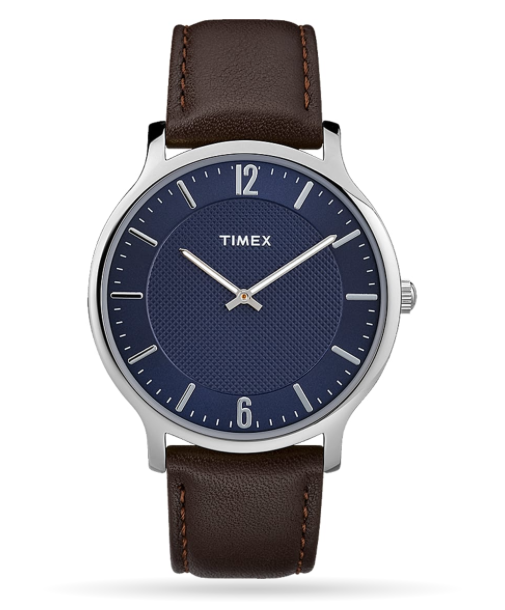 Timex Metropolitan 40mm Leather Watch