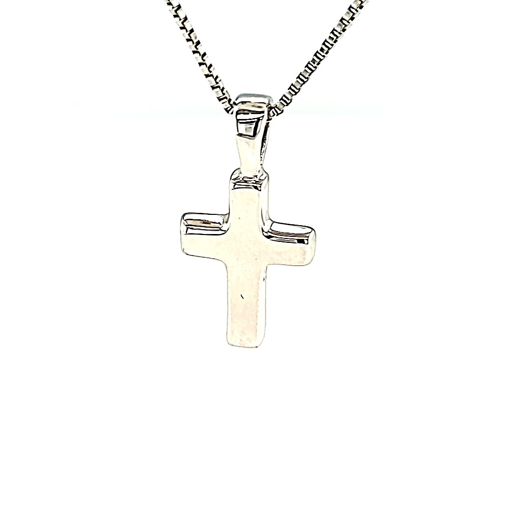 .925 Small Plain Block Cross