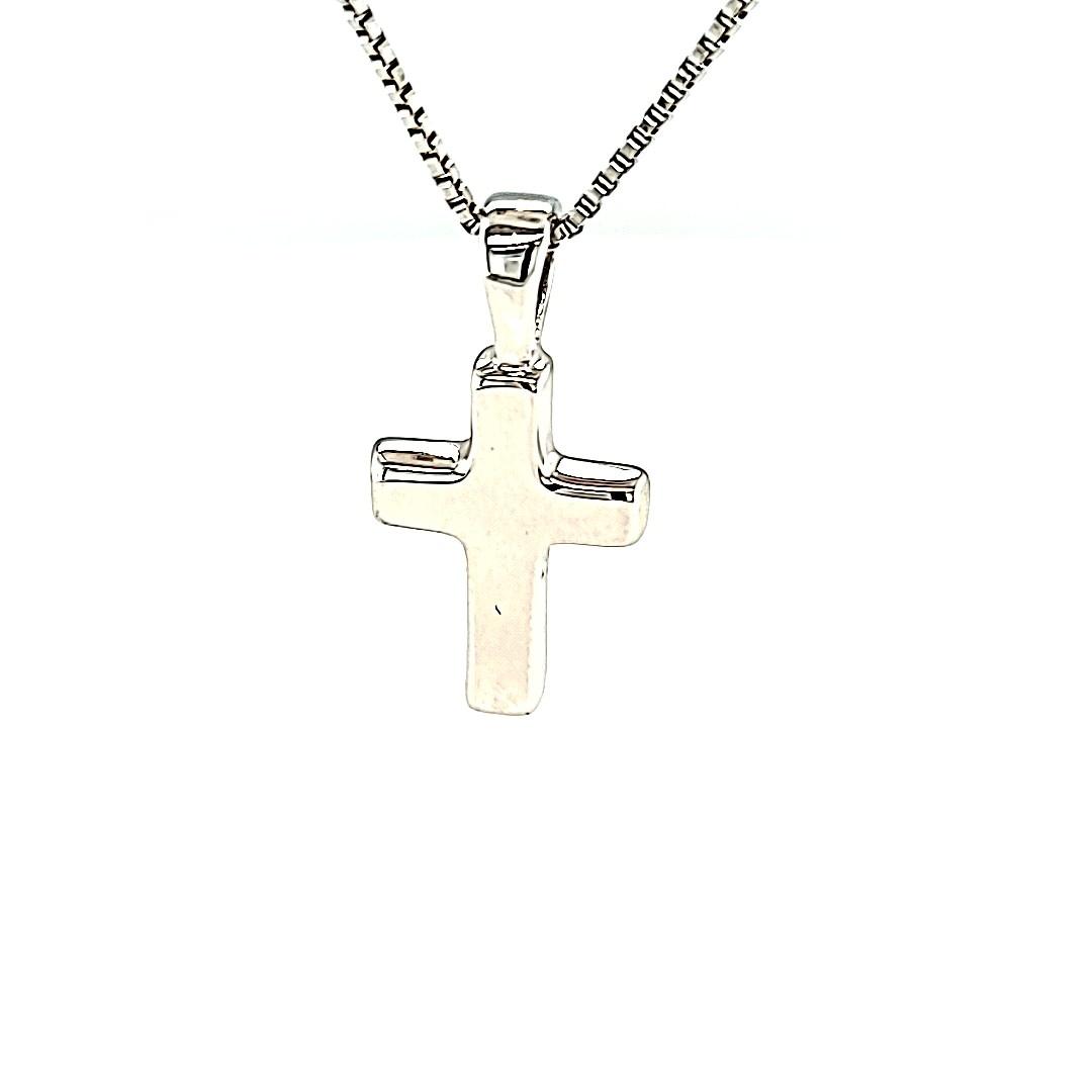 .925 Small Plain Block Cross