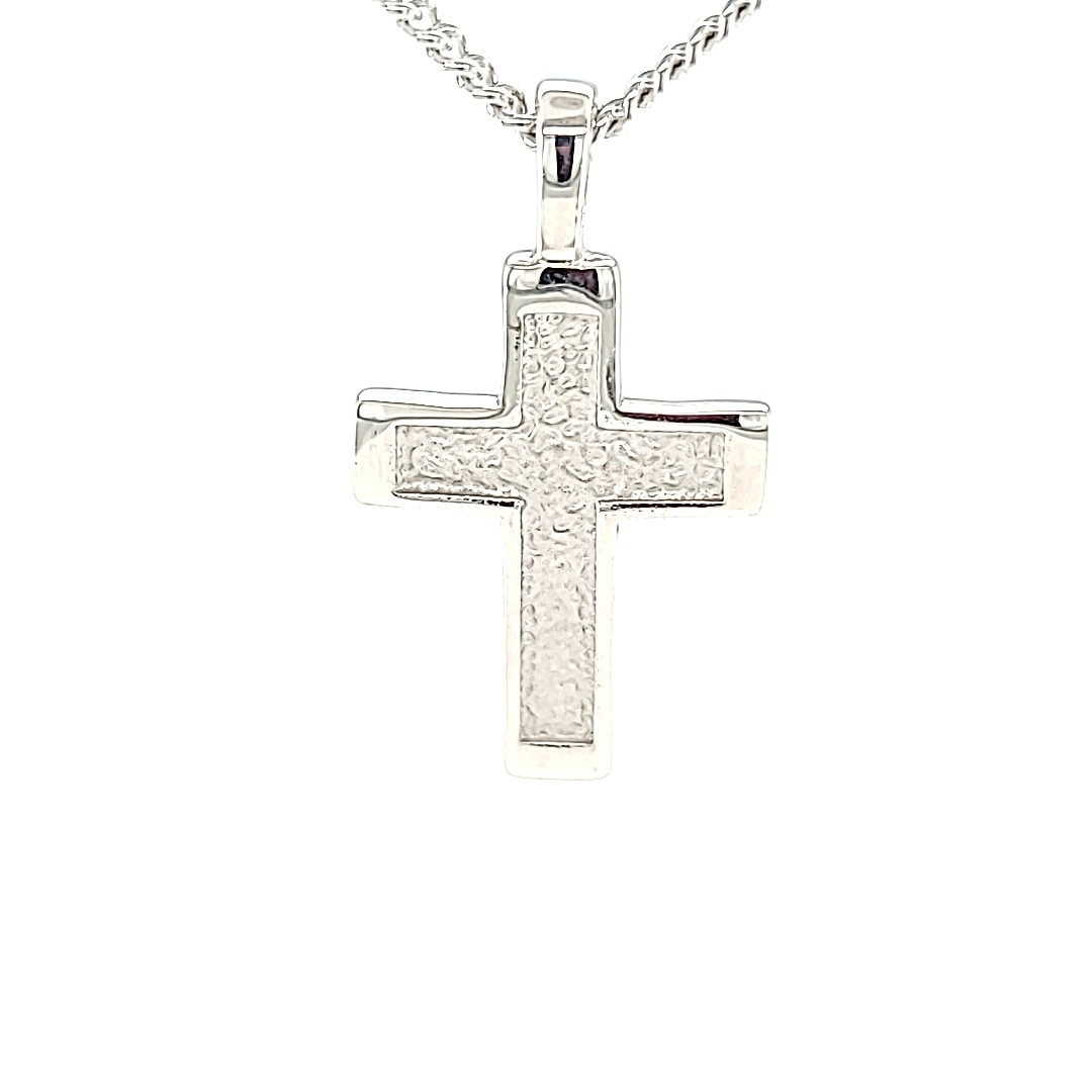 .925 Medium Textured Cross