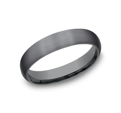 Benchmark 4mm Tantalum comfort fit wedding band