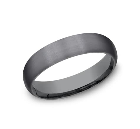 Benchmark 5mm Tantalum comfort fit wedding band