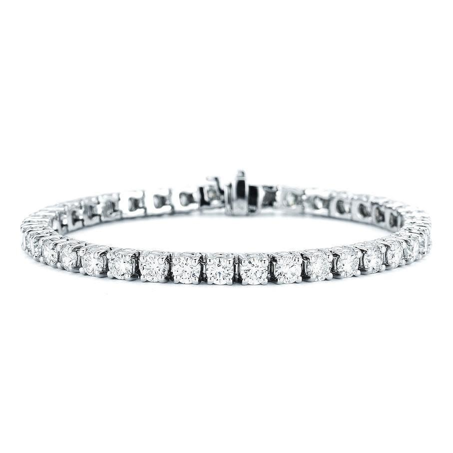 14KW 3.00CTTW LG Diamond Tennis Bracelet (Lab Grown Diamonds)