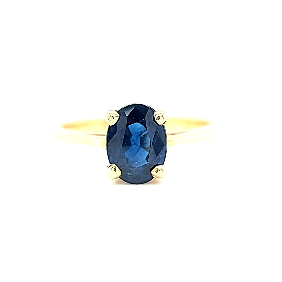 14KY Sapphire Fashion Ring