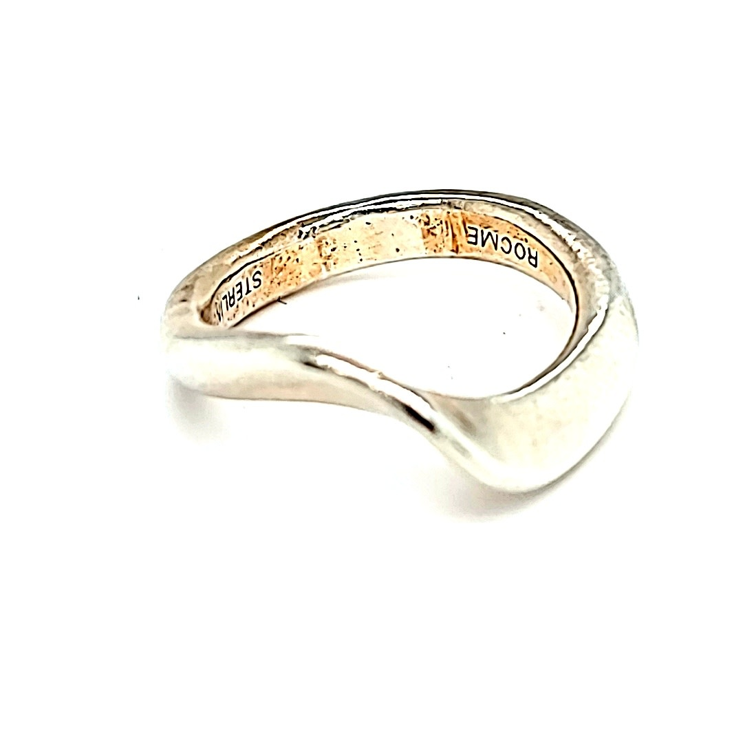 Cape Cod .925 Large Wave Ring Size 5.5