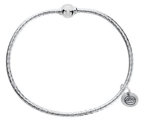 Cape Cod .925 CZ twist Cape Cod Bangle SB5464-70