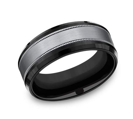 Benchmark Mens Tantalum Ring Size 9