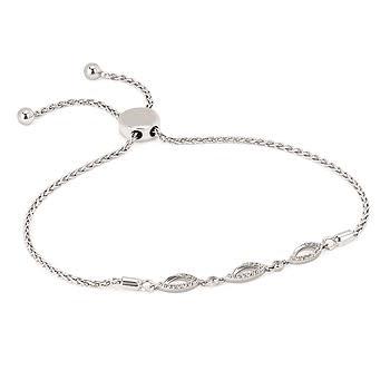 .925 .17TW Diamond Bracelet