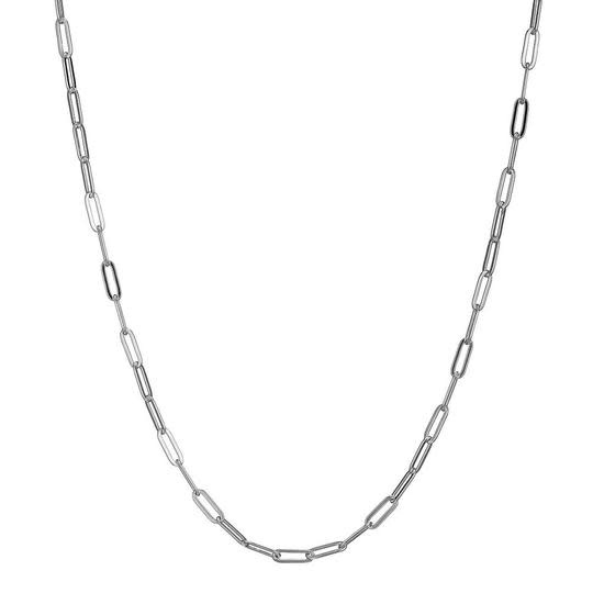 Elle .925 Necklace made of Paperclip Chain