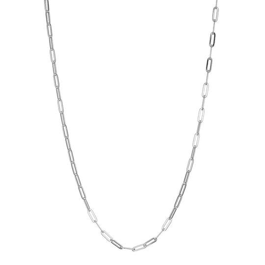 Elle .925 Paper Clip Chain Necklace 36""
