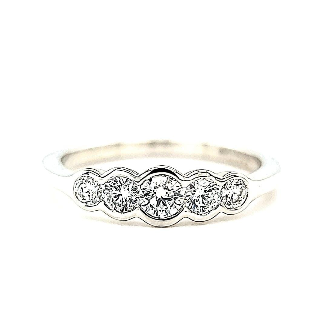 14KW LG Diamond Fashion Ring