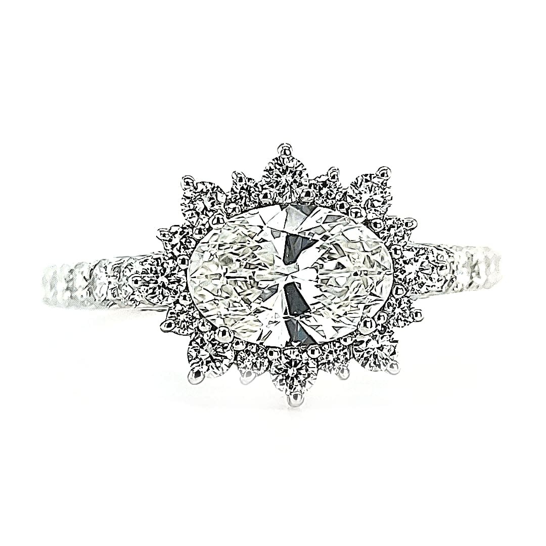 F 14KW 1.72TW LG Diamond Engagement Ring