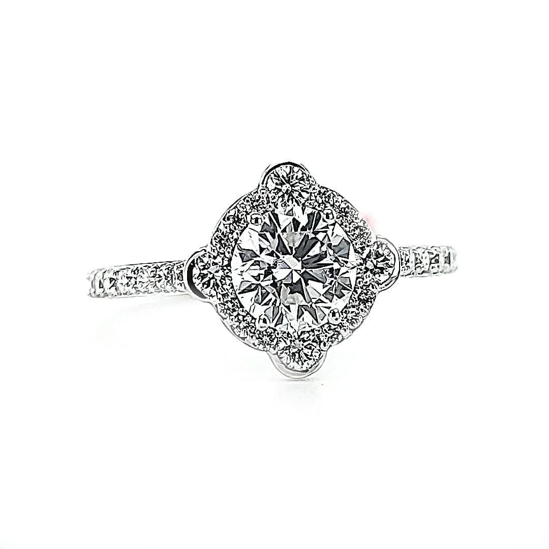 G 14KW 1.48TW LG Diamond Engagement Ring