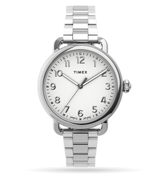 Timex Timex Standard 34MM Watch Stainless Bracelet