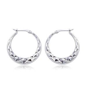 Carla .925 Shell Hoop Earrings