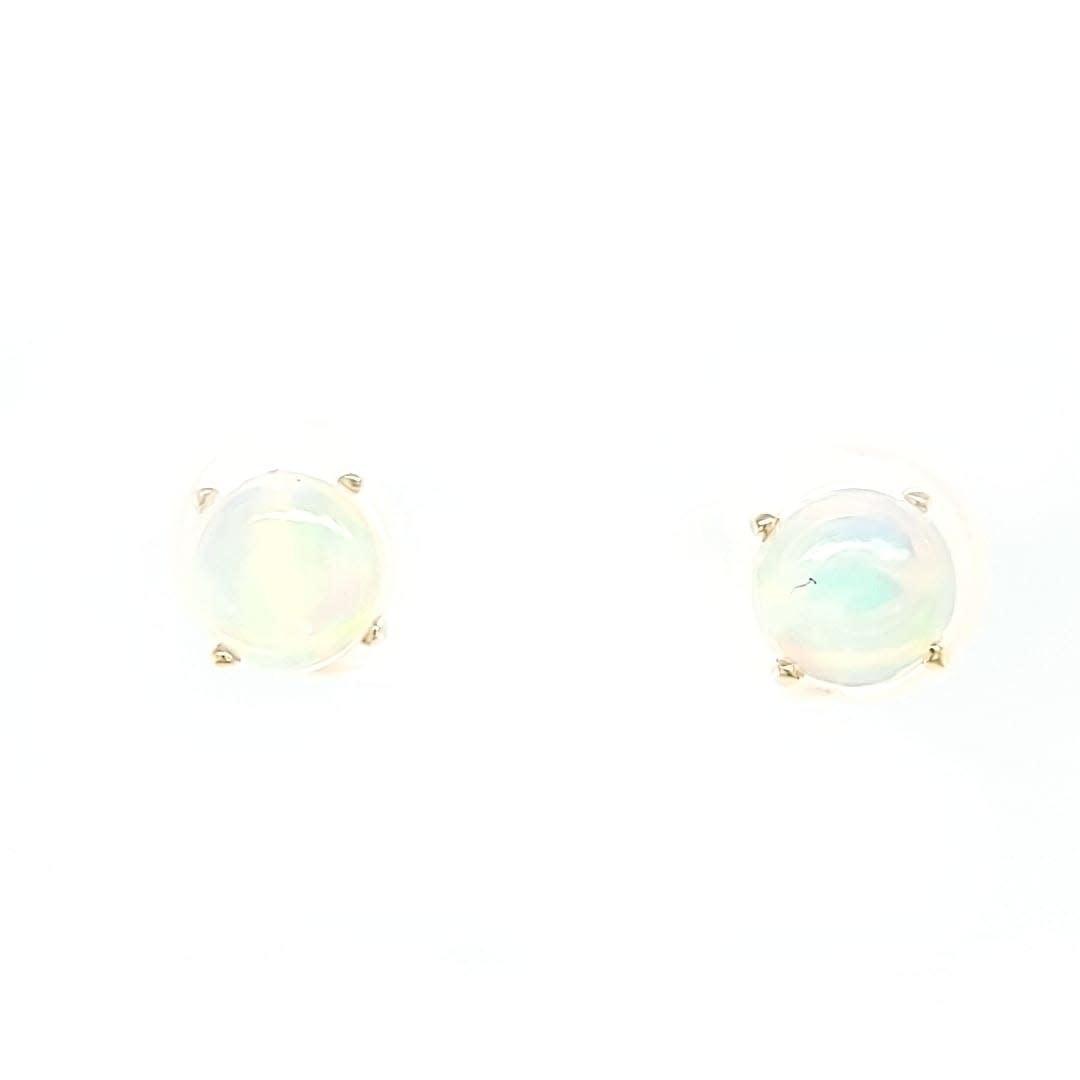 14KY 1.13TW Opal Stud Earrings