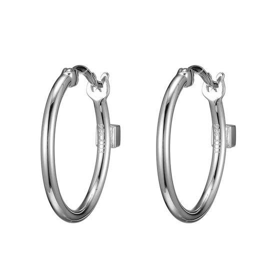 Elle .925 20mm Hoop Earrings