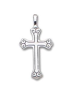 .925 Small Scroll Cross