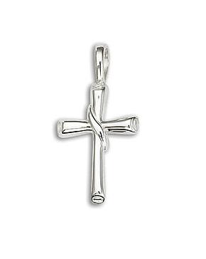 .925 Small Flair Scroll Cross