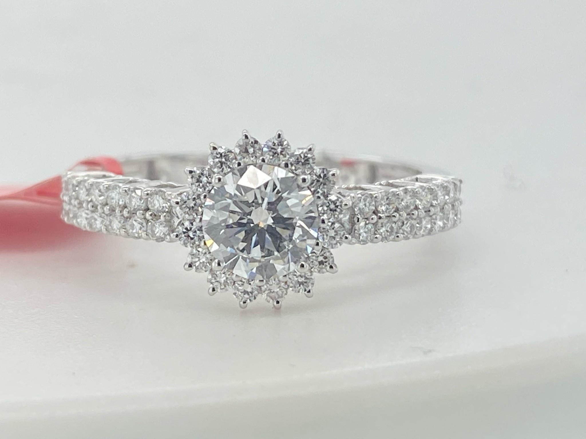 14KW 1.07TW LG Engagement Ring