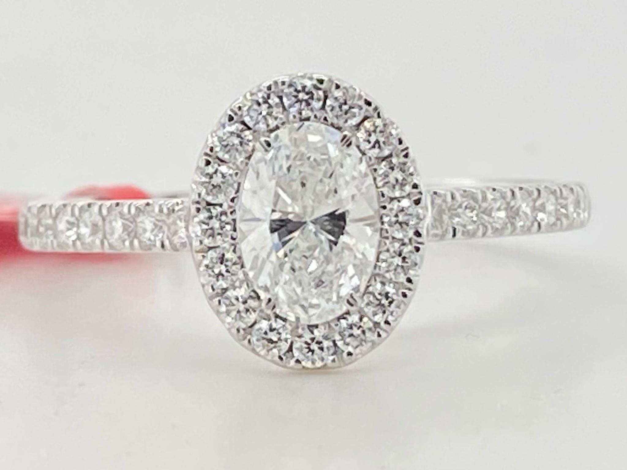 14KW .87TW LG Diamond Engagement Ring