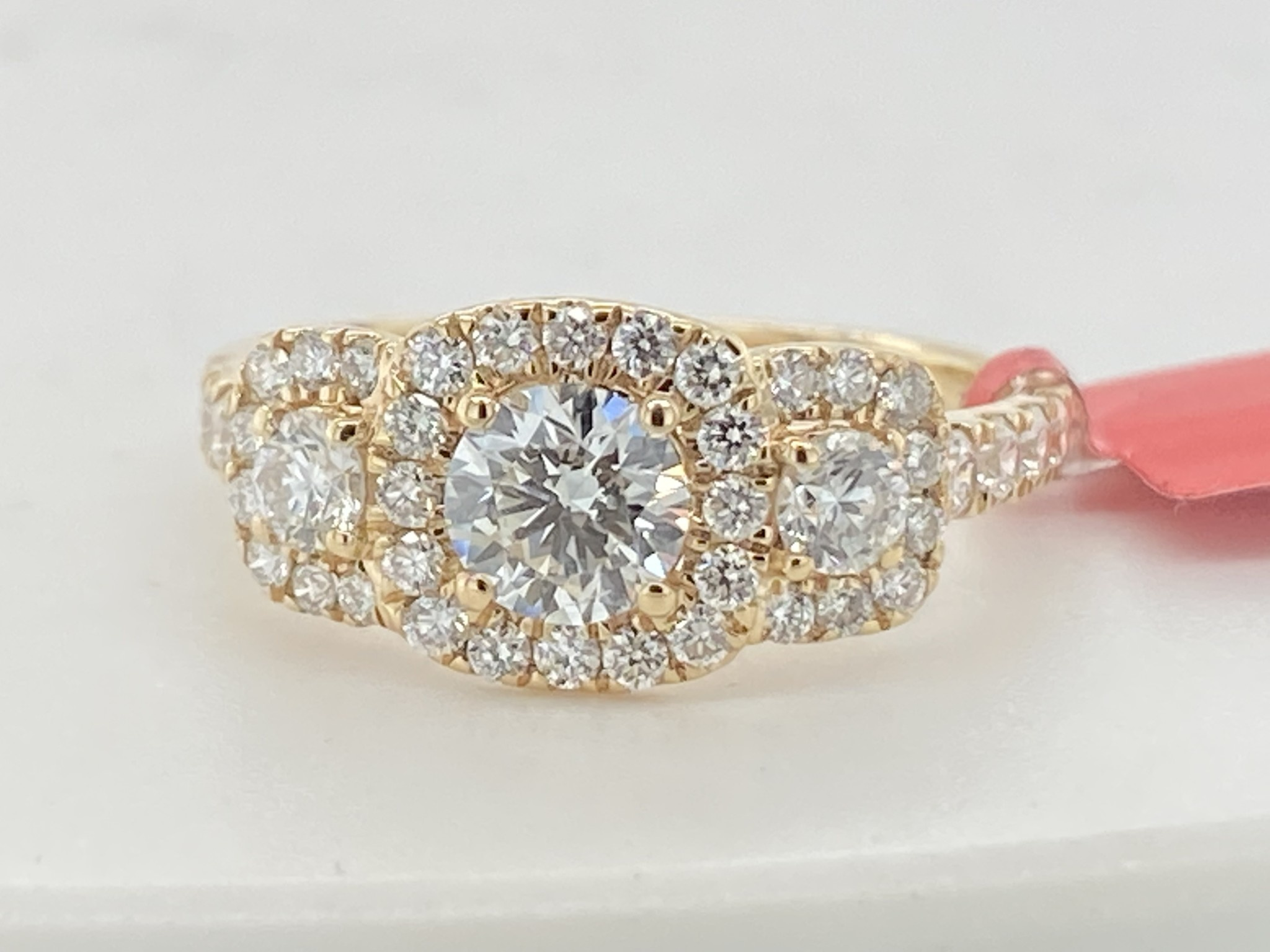 14KY 1.25TW LG Diamond Engagement Ring