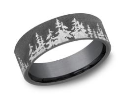 The Cedar size 9 Tantalum Band CF848782 Dark