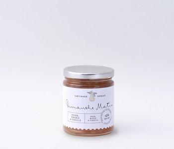 Tartinade poire, érable et vanille Dimanche matin