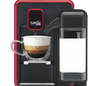 Machine Caffitaly Cappuccina rouge
