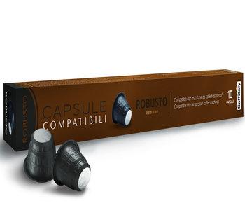 CAPSULES COMPATIBLES NESPRESSO® Robusto de Caffitaly
