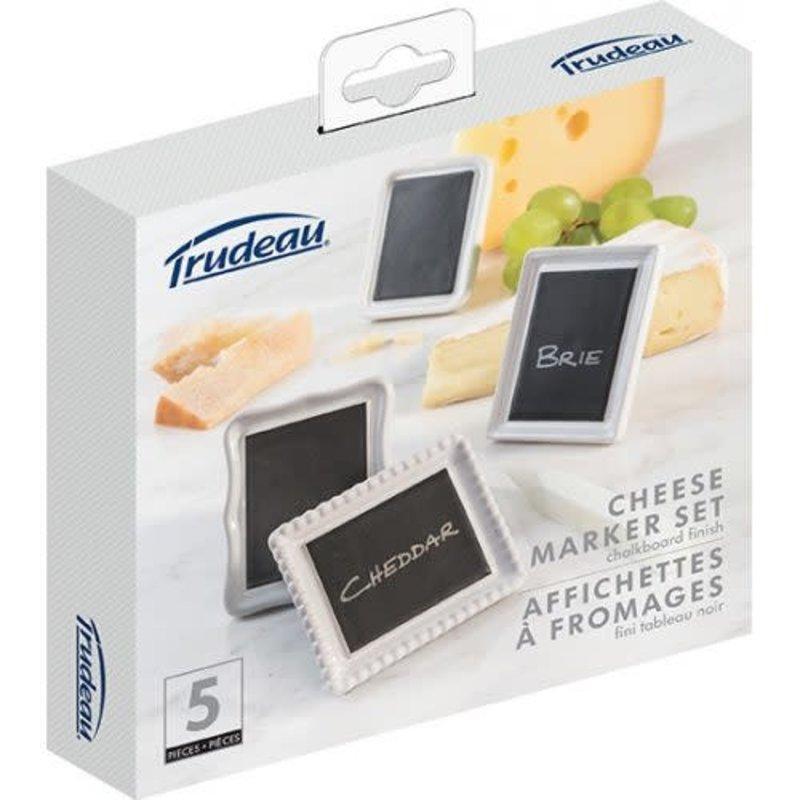Trudeau Affichettes à fromages de Trudeau