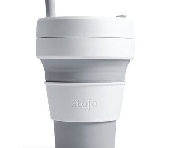 Tasse Stojo Collapsible Biggie Cup grise